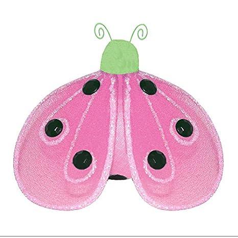 Amazon.com: Colgante catarina verde rosa brillante malla de ...