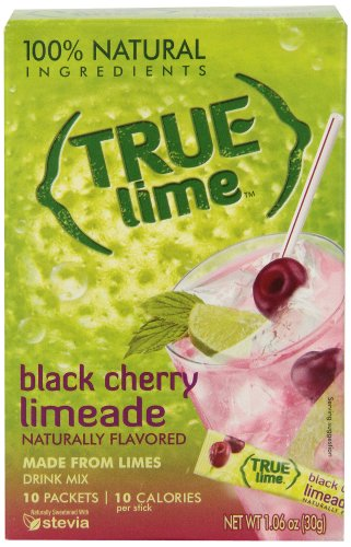 True Citrus Limeade Drink Mix, Black Cherry, 1.06 oz (10 Count)