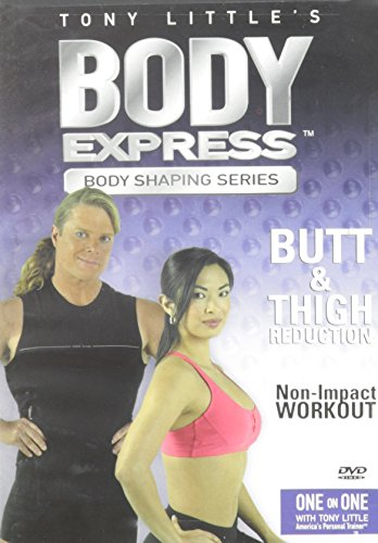 Freestyle Tony Dvd Little Gazelle - Body Express: Butt & Thigh Reduction