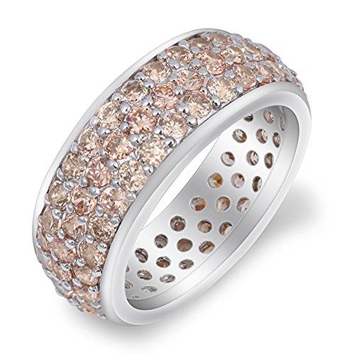 Band Morganite Ring - 6