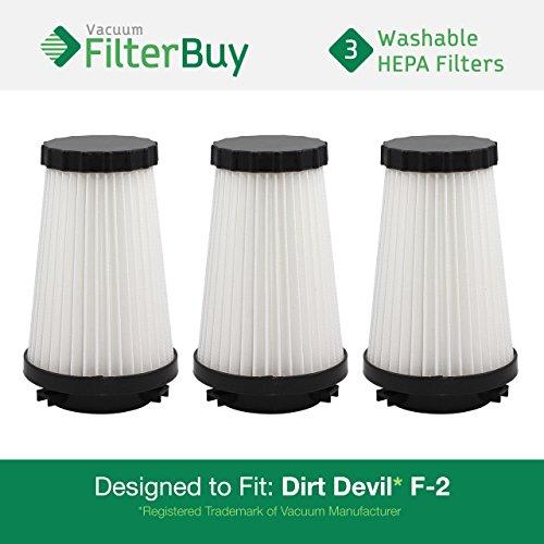 dirt devil f2 filter washable - 4