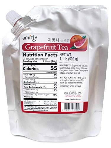 Amizle Grapefruit Tea, 1.1 Pound