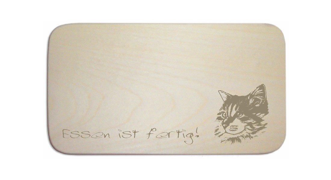 Desayuno « Maine Coon gato » Incluye pers. Grabado) - Tabla de ...