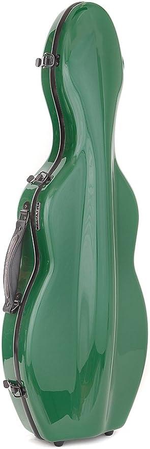 Funda para violín fibra de vidrio verde Tonareli: Amazon.es: Instrumentos musicales