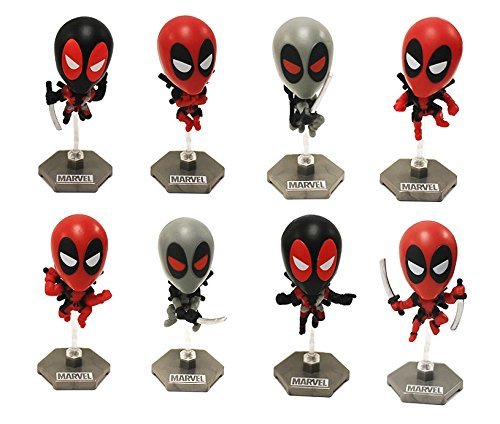 Marvel Deadpool Original Minis Complete Figure Set of 8