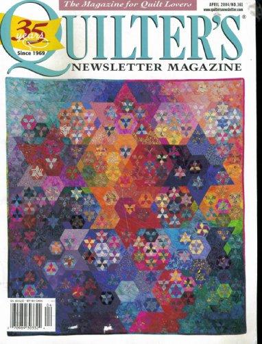 - Quilter's Newsletter Magazine. April 2004 No. 361. Vol 35 No. 3