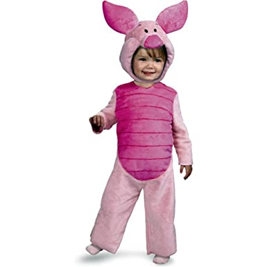 23c96ca1e21c Amazon.com  Disguise Baby s Disney Winnie The Pooh Piglet Comfy Fur ...