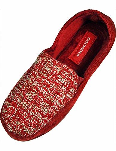 Dockers - Ladies Slipper, Red 33628-5B(M)US