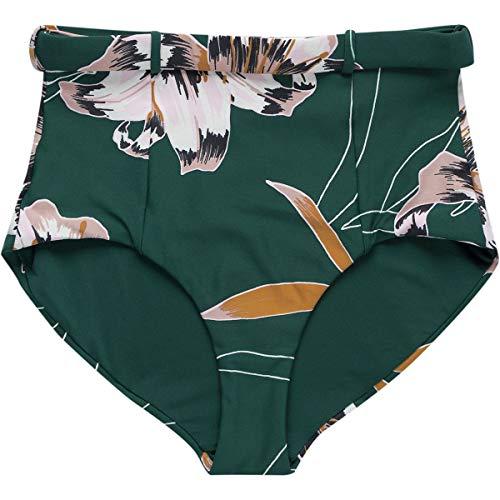 Seafolly Aralia Belted Hi-Waist Bikini Bottom - Women's Floral, 8
