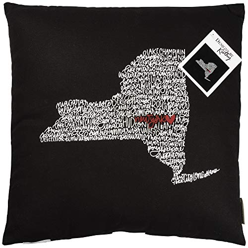 Primitives by Kathy Home State Pride Throw Pillow New York ()