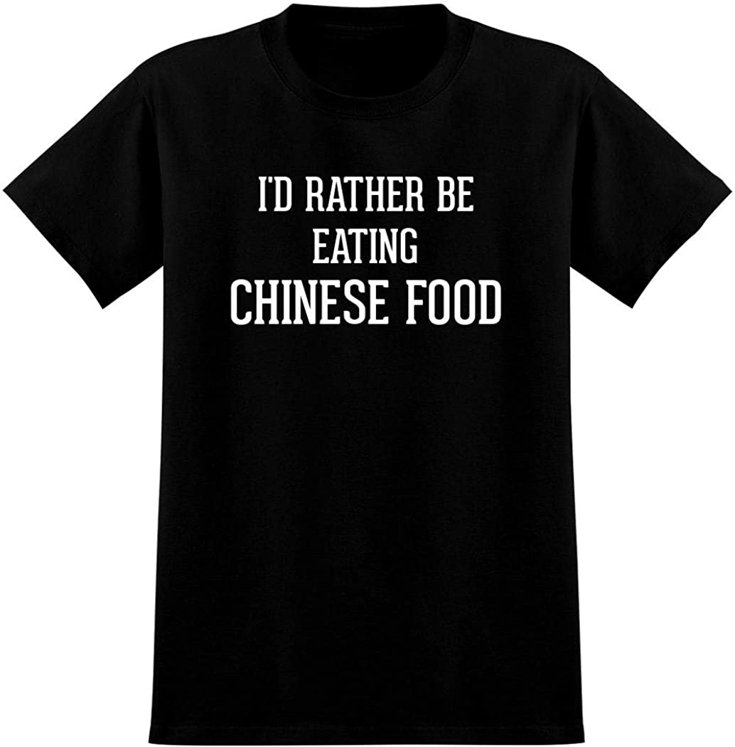I'd Rather Be Eating CHINESE FOOD - Men's Graphic Tee T-Shirt