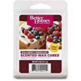 Wild Berry Cheesecake Better Homes and Gardens Wax Cubes Value Pack (12 Wax Cubes)