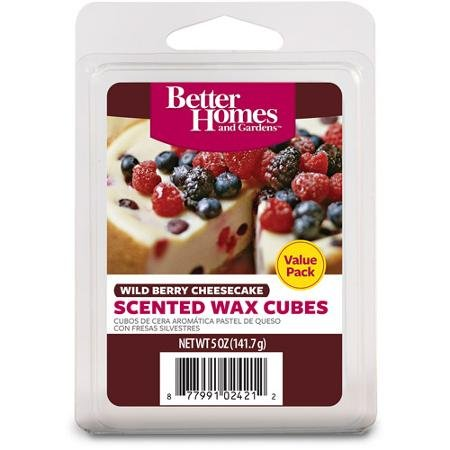 Wild Berry Cheesecake Better Homes and Gardens Wax Cubes Val