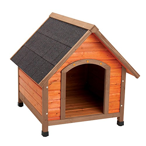 Ware Manufacturing Premium Plus A-Frame Fir Wood Dog House - Medium