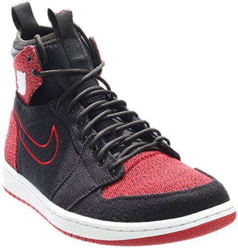 r Jordan 1 Retro Ultra High Black/Gym Red/Black/White Basketball Shoe 13 Men US ()