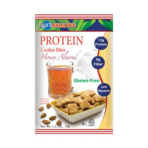 Kay's Naturals Cookie Bites, Honey Almond, 1.2 Ounce