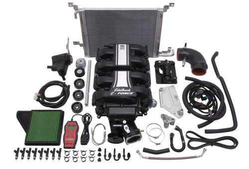 Edelbrock 1588 E-Force Supercharger Kit for Ford Mustang 5.0L V8 Engine ()