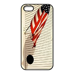 Customized Dual-Protective Case for Iphone 5,5S, American Flag Cover Case - HL-R643508