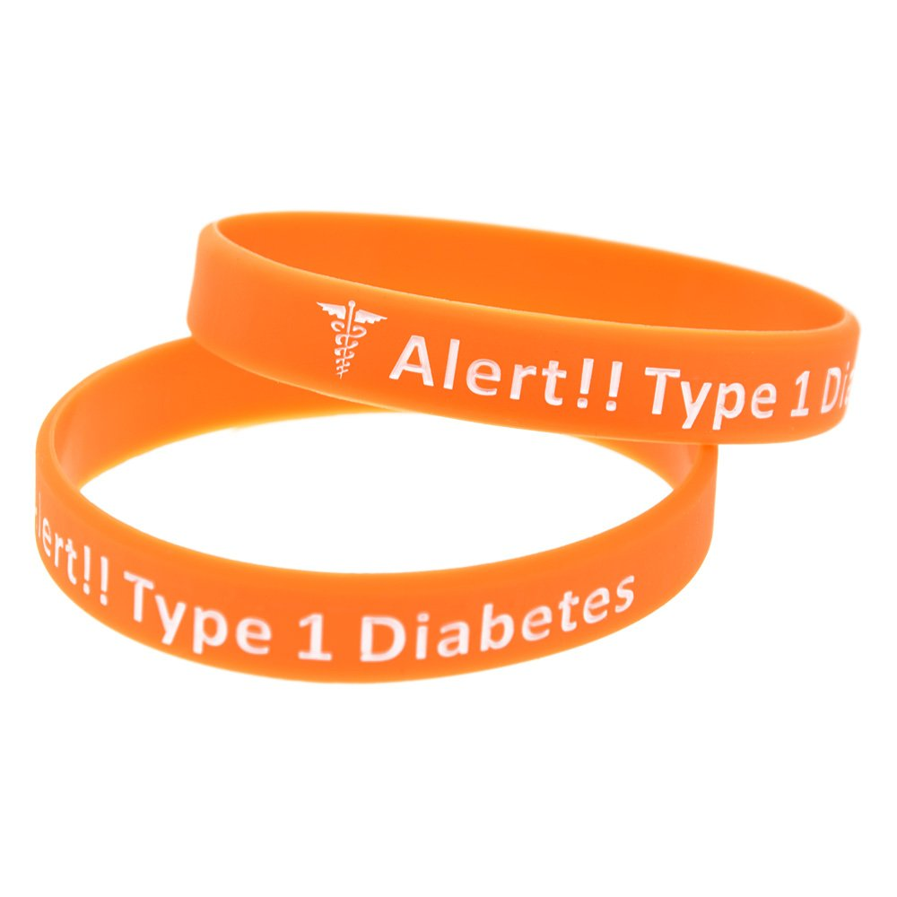 personalized type diabetes id medical com walmart ip bracelet steel stainless