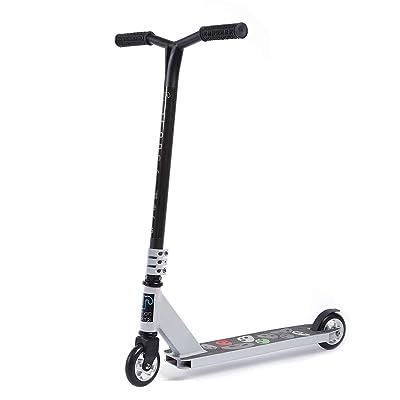 Urban Riders Speedy Plus 7 Pro Trick Scooter   5 Spoke 6061 Aluminum Core Wheels (Silver): Sports & Outdoors