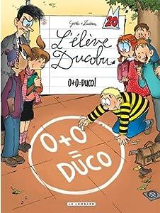 """Afficher """"L'élève Ducobu n° 20<br /> 0+0 = Duco !"""""""