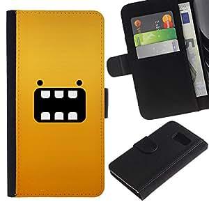 All Phone Most Case / Oferta Especial Cáscara Funda de cuero Monedero Cubierta de proteccion Caso / Wallet Case for Sony Xperia Z3 Compact // Cartoon Yellow Animal Character