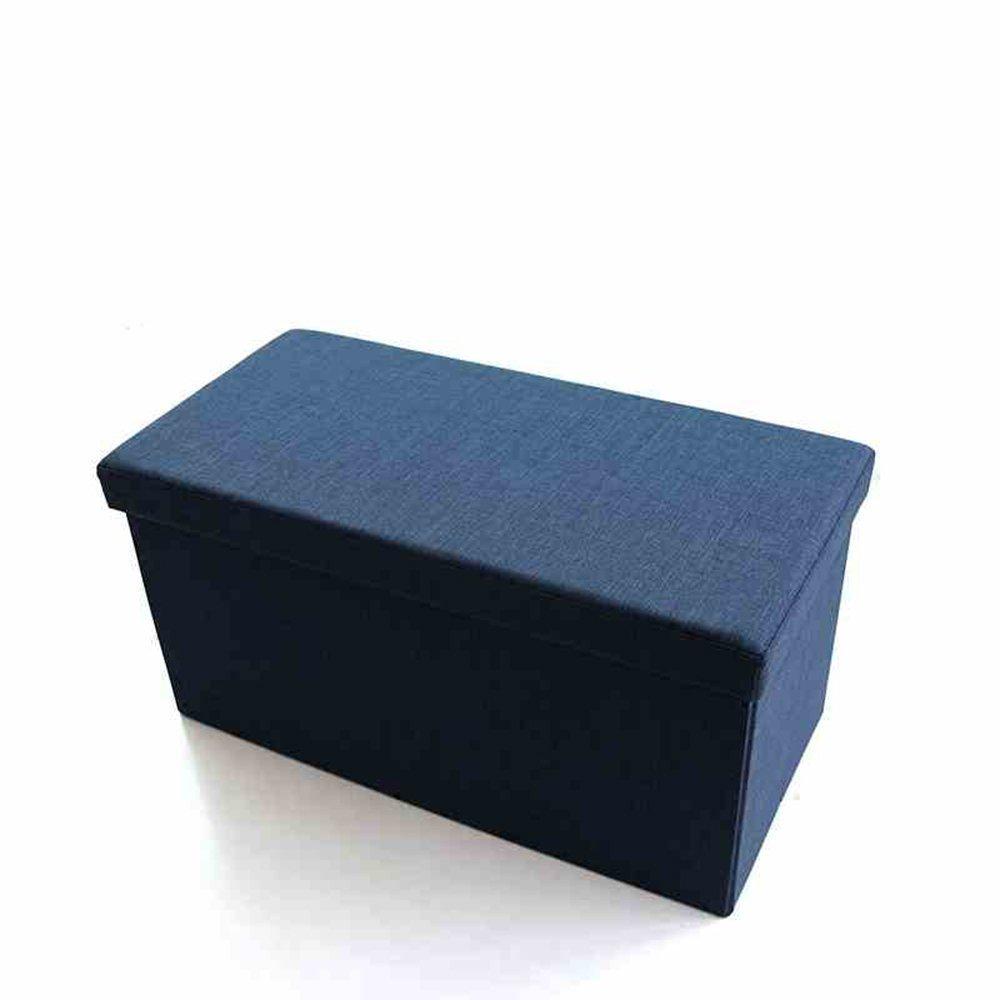 el precio más bajo MOMO Taburete de Almacenamiento de Tela Taburete Plegable Rectangular Rectangular Rectangular Puede Sentarse en el Taburete Multifunción para Taburete de Zapato (3 Colores Opcionales) (76  38  38Cm) - Taburete de almacena  suministro de productos de calidad
