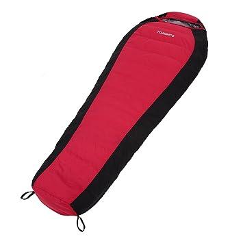 TOMSHOO Invierno Saco de Dormir Abajo Lleno 1 Persona Bolsa de Dormir Ligero con Bolso de Compresión: Amazon.es: Deportes y aire libre