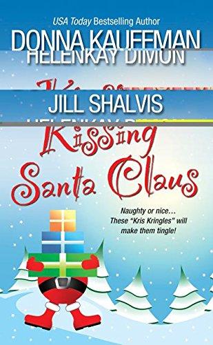 book cover of Kissing Santa Claus