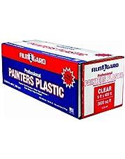 Berry Plastics 626260 Film Gard High Density Professional Painter's Plastic, 400' Length x 9' Width x 0.35 mil Thick, Clear