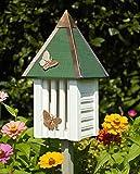 Heartwood Flutterbye Butterfly House in White