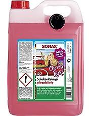 SONAX Ruitenreiniger gebruiksklaar Cherry Kick (5 l) binnen enkele seconden helder zicht zonder strepen en strepen | art.nr. 03925000