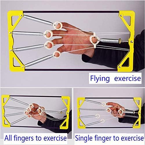 FireAngels Adjustable Strengthen Muscle Finger Hand Power Up Trainer Hand Grip Exerciser For Guitar Musical Instruments Player Parts-Load Bearing 45kg