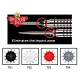 Red Dragon Trident 180 - Dart Point Cones Black T01 by Red Dragon Darts
