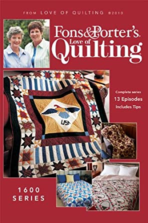 Amazon Fons And Porters Love Of Quilting 1600 Series Movies Tv