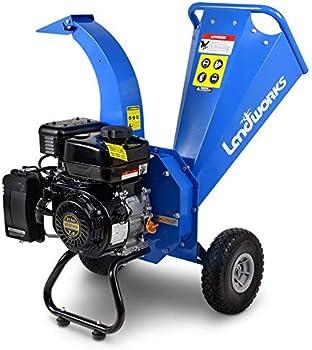 Landworks Heavy Duty Mini Chipper Shredder for Composting