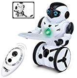 robots that you control - Top Race® Remote Control Robot, Smart Self Balancing Robot, 5 Operating Modes, Dancing, Boxing, Driving, Loading, Gesture. 2.4Ghz Transmitter