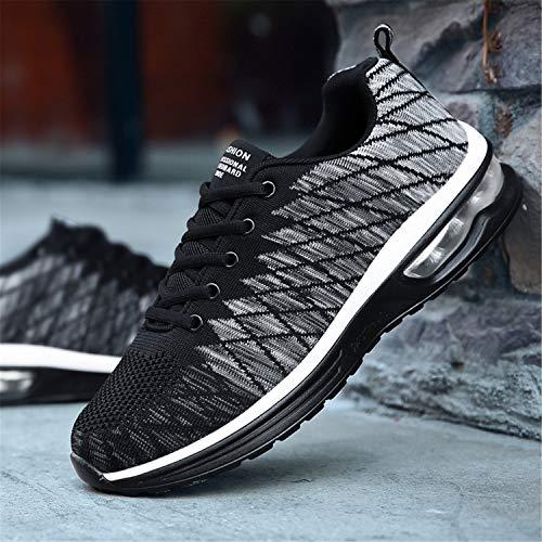 Sportive Running Da Basket Sport Bianco Nero Sneakers Basse Ginnastica Fitness Unisex Donna Outdoor Tqgold® Uomo Scarpe 48qBYwwUT