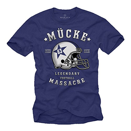 Camiseta Futbol Americano MÜCKE 63 Casco