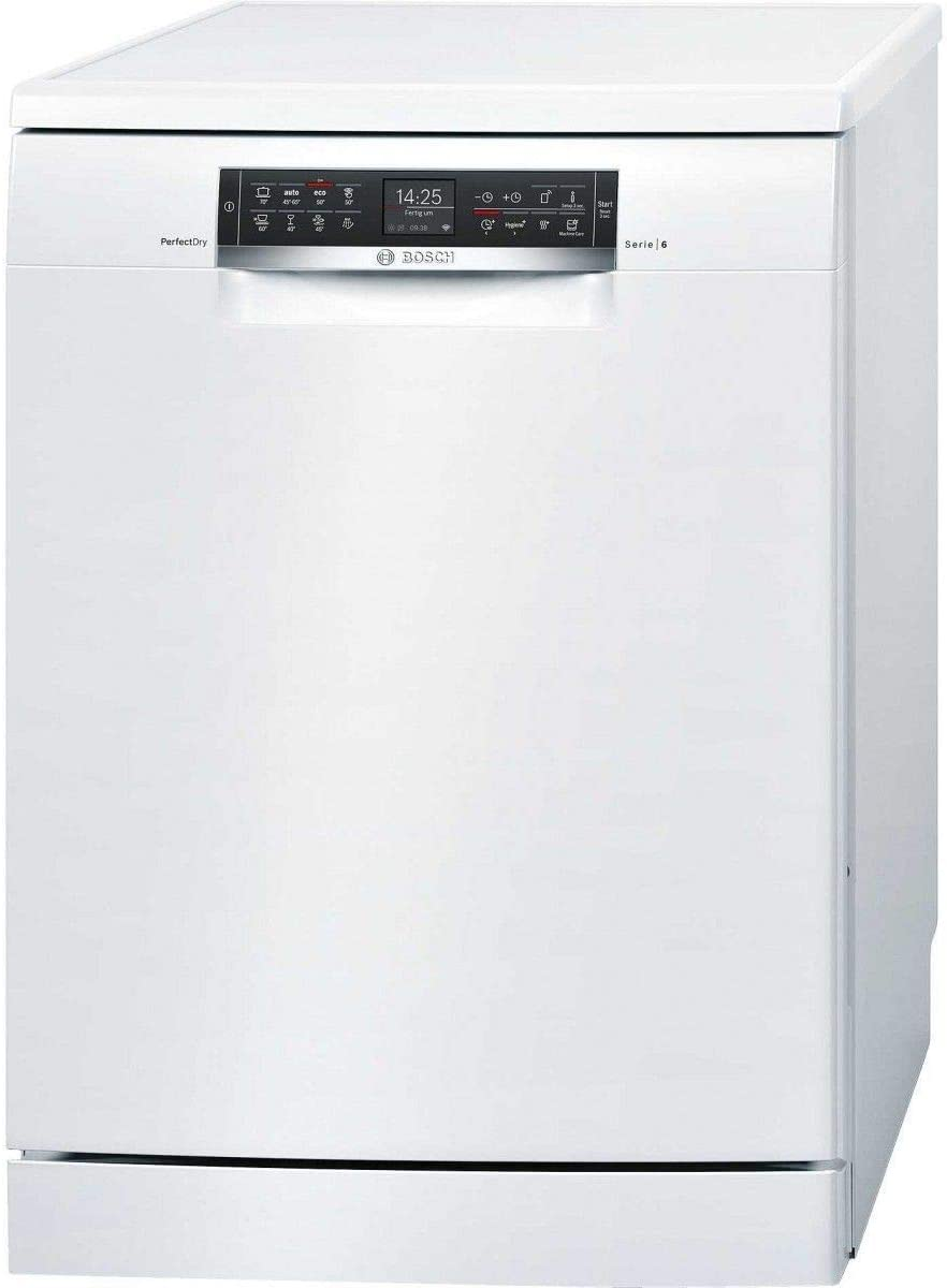 Bosch Serie 6 SMS68TW16E lavavajilla Independiente 14 cubiertos A ...