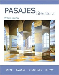 Pasajes: Literatura by Mary Lee Bretz (2009-01-16)