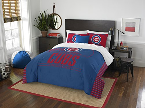 MLB Chicago Cubs Grandslam Full/Queen Comforter and 2 Sham Set