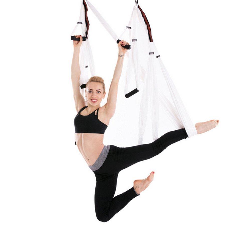 Aerial Yoga Hängematte Set Fliegen, Hängematte Inverted Hängematte Heben Platte Und Erweiterung Gürtel Komplettset