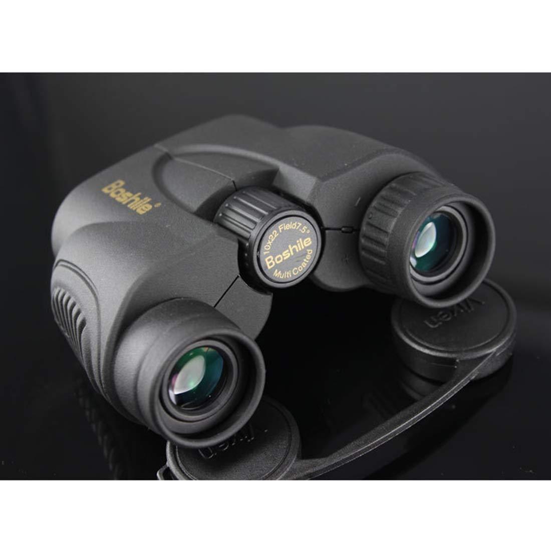【通販激安】 KERVINJESSIE 10x22 コンパクト双眼鏡 バードウォッチング ハイキング 防水 双眼鏡 コーティングレンズ付き 大人用  ブラック B07KC18VQX, ファミリー庭園ネットショップ b01e227e