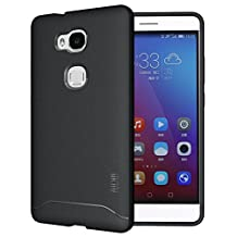 TUDIA Ultra Slim Full-Matte ARCH TPU Bumper Protective Case for Huawei Honor 5X (Black)