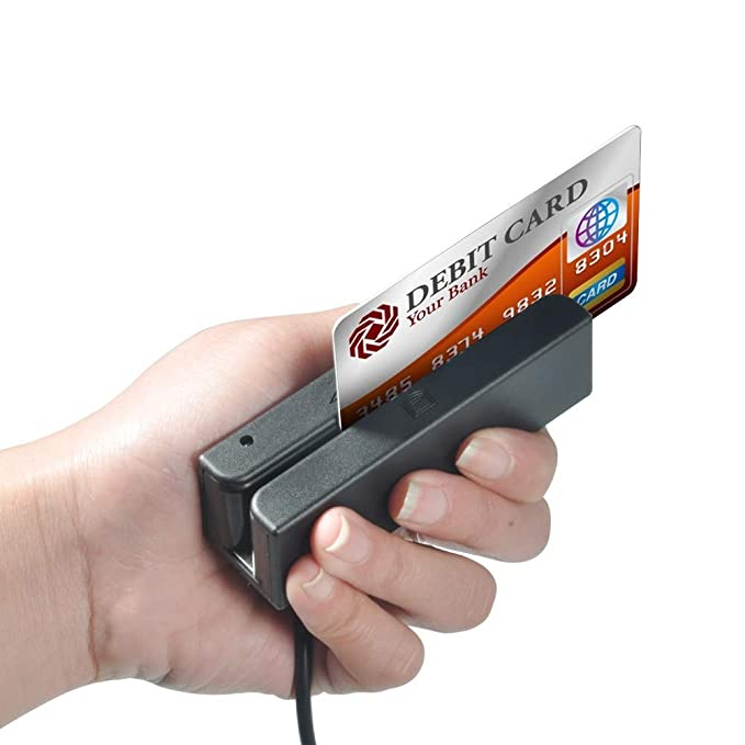 Lector de tarjetas Swipe - USB 3 pistas Lector de tarjetas ...
