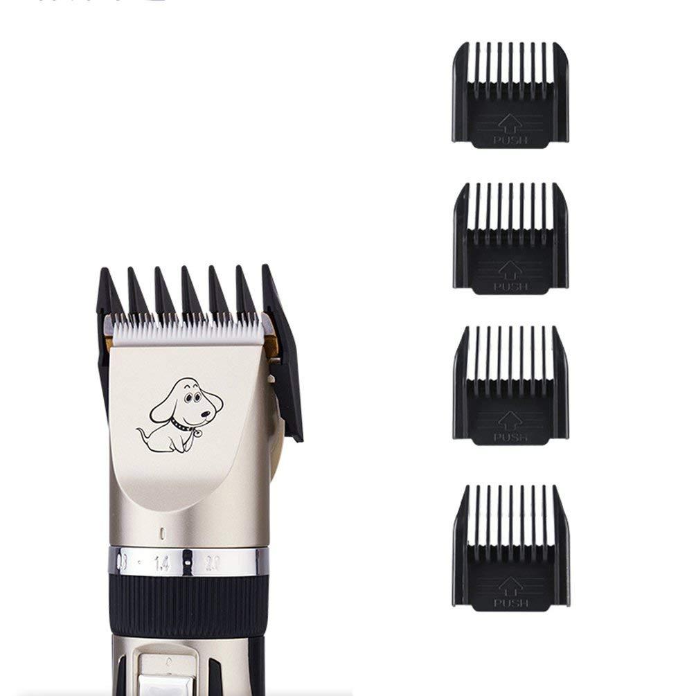 Hehilark Tondeuse /à Poils danimaux de Compagnie P2 rasant Le Tondeuse /électrique pour Cheveux de Chiens Rechargeables
