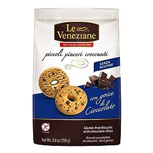 Le Veneziane Biscotti Con Gocce Di Cioccolato Senza Glutine 250g
