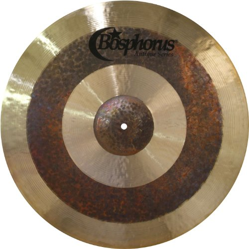 Bosphorus Cymbals A21RMT 21-Inch Antique Series Ride Cymbal (Ride Series Cymbal Thin)