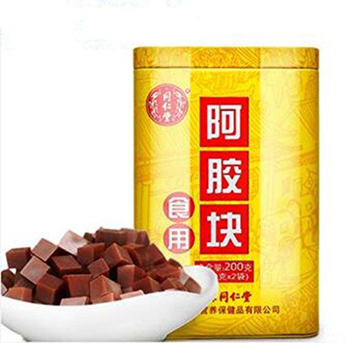 Tong Ren Tang Ejiao E Jiao cake Colla Corii Asini Donkey Hide Glue 200g by Beijing Tong Ren Tang